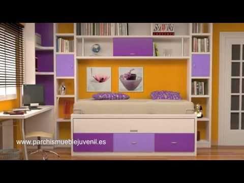 Muebles juveniles camas nido habitaciones juveniles for Muebles nido juveniles