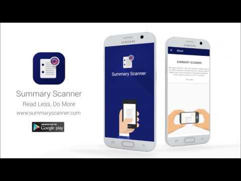 Summary Scanner - Apps on Google Play