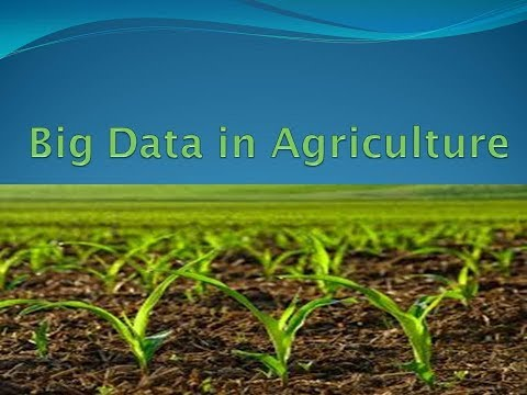 Big Data In Agriculture | Agriculture Big Data | Application Of Big Data Analytics In Agriculture