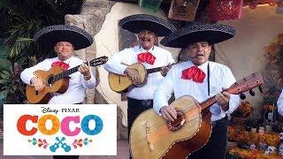 Coco Music Live - Epcot - El Mariachi Coco de Santa Cecilia - Mexico Pavilion