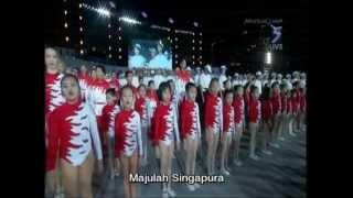 Rani Singam National Anthem Majulah Singapura with Vocaluptuous (Zubir Said)
