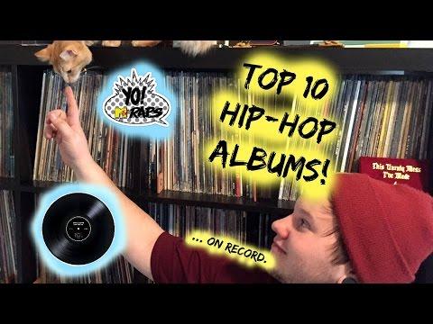 Top 10 Hip-Hop/Rap Albums on Record!