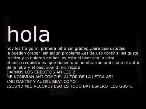Reggaeton Romantico instrumental + LETRA GRATIS