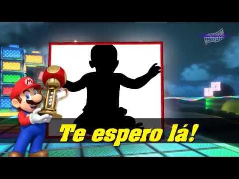 Convite Animado Mario Kart Youtube