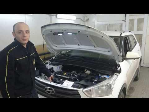 Установка блокиратора DEFEN.time на Hyundai Creta