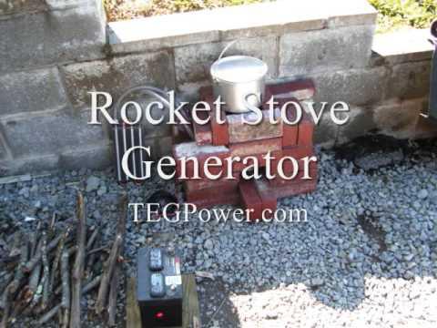 Rocket Stove Generator - Rocket Stove Generator - YouTube