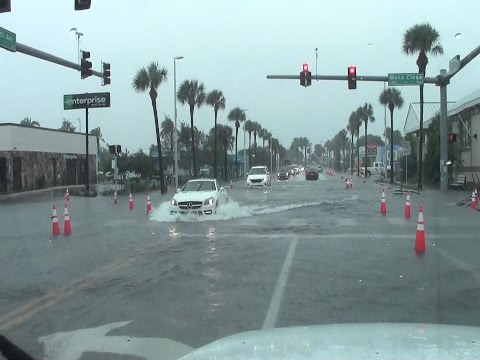 Flooding,Saint Petersburg Beach, Florida (Tropical Storm Hermine)