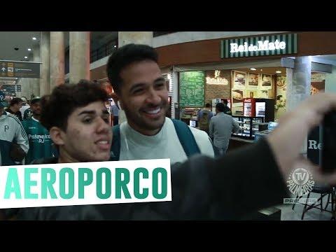 Aeroporco - A chegada do Verdão à Cidade Maravilhosa