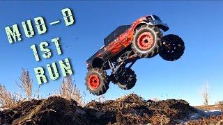 Mud-D Upgrades & First Run! Axial Smt10 Mega Monster Mud Truck | Rc Adventures