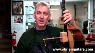 Luthier Tips du Jour Mailbag 92 -  Holding the guitar