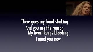 You Are The Reason Lyric (Calum Scott & Leona Lewis) Video