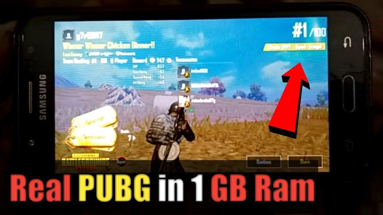 How to play Pubg Mobile in 1gb ram without lag with proof