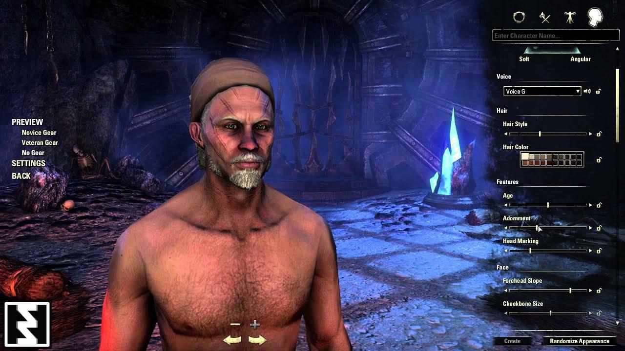 Redguard - Elder Scrolls Online Beta - Character Creator ... Play Elder Scrolls Redguard Online