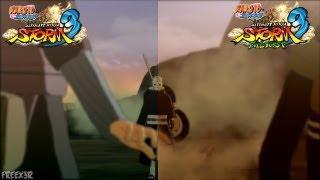 Naruto Shippuden Ultimate Ninja Storm 3 Full Burst - Graphics Comparison