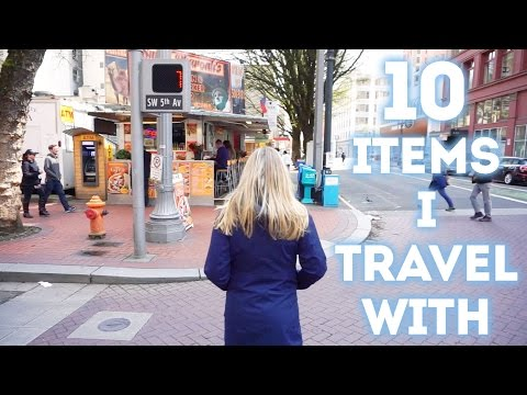 10 ITEMS I ALWAYS TRAVEL WITH // My Travel Essentials