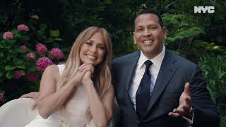 Two of the bronx's favorites give new york city's students send off they deserve as jennifer lopez and alex rodriguez deliver keynote graduation spee...