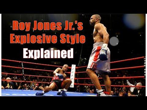 Roy Jones Jr's Explosive Style & Dive-Bomb Punch Explained - Technique Breakdown