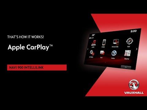 Apple CarPlay® | Navi 900 Intellilink | Vauxhall