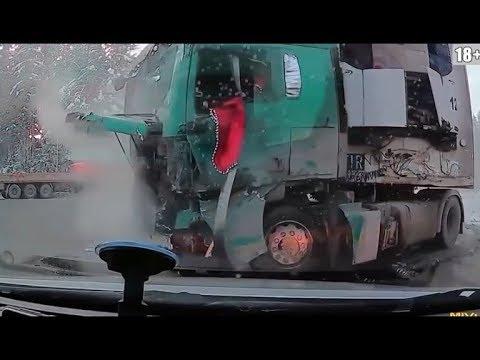 Winter Car crashes 2017/2018 - Shock Dash Cam - Horrible car crashes