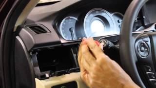 2013-2014 Honda Accord LCD Screen Removal