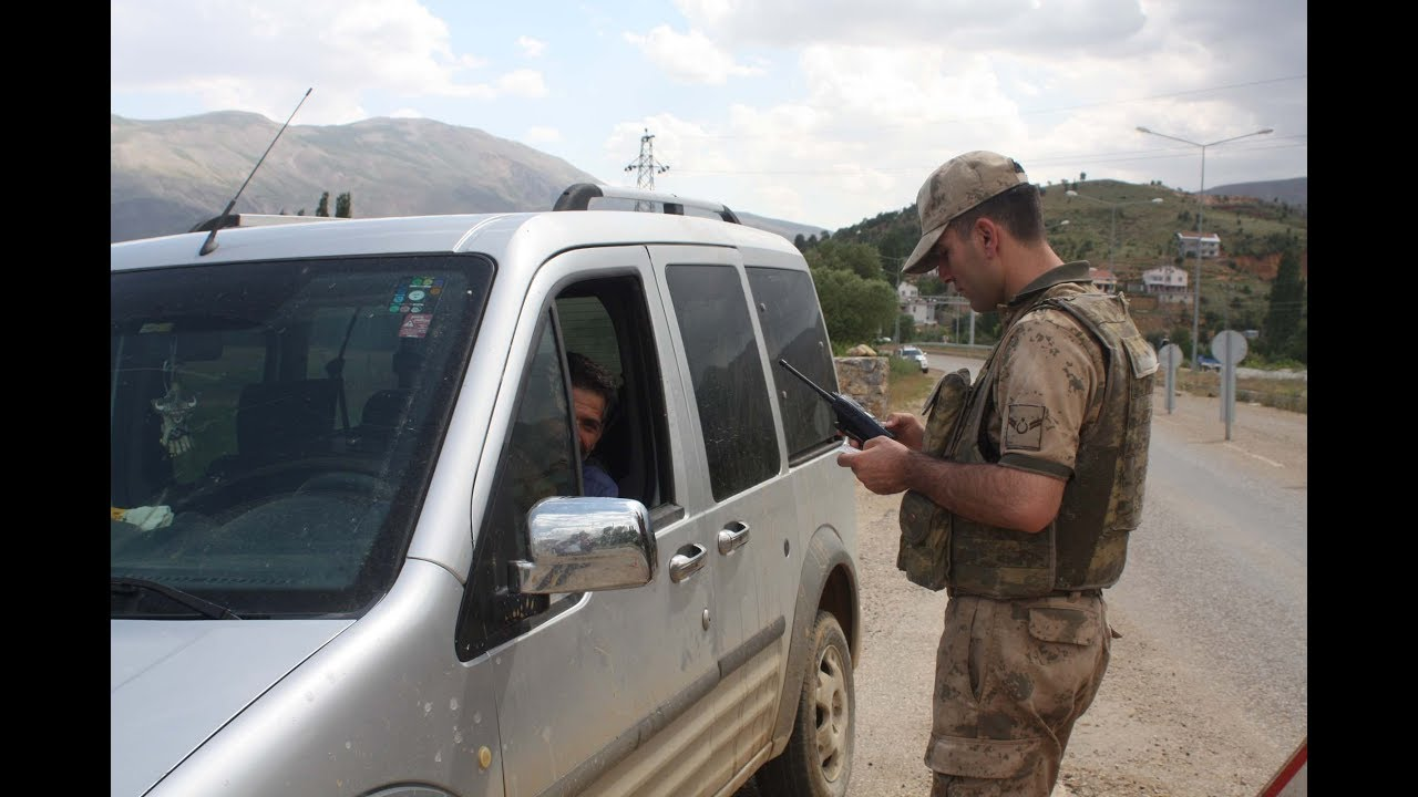 Çelikhan'da Baydan Öncesi Jandarmadan Güvenlik Önlemi