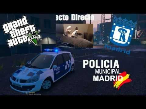[Directo Resubido 28/08/2016] | LSPDFR | Patrullando en directo | Policía Municipal de Madrid