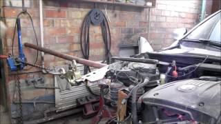 BMW 3. A little front repair of the car. Небольшой ремонт переда.(Auto Body repair. Ремонт кузова., 2016-12-31T07:58:38.000Z)