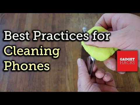 Tips for Properly Cleaning Your Smartphone [How-To]