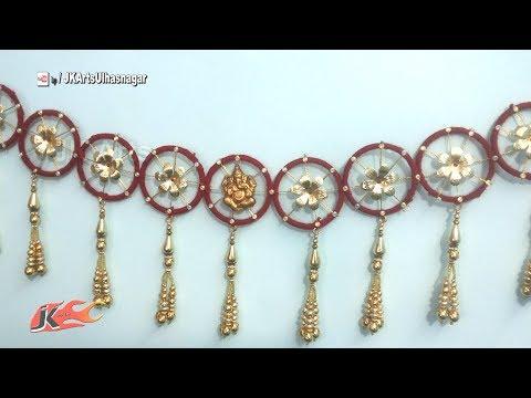 Best out of waste bangles | How to makeToran || JK Arts 944