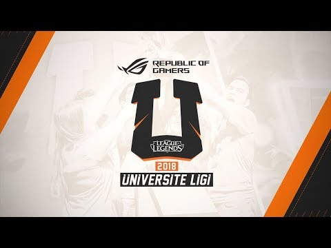 2018 Republic of Gamers Üniversite Ligi Finali - Power Ragerrs vs Hacettepe Reignover