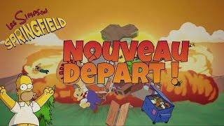 Les Simpson : Springfield   PRENONS UN NOUVEAU DÉPART !