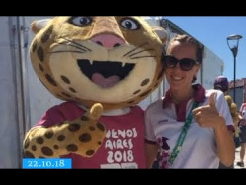 ТРК ВіККА: Черкаська триатлетка потрапила у суддівську колегію Юнацьких Олімпійських Ігор
