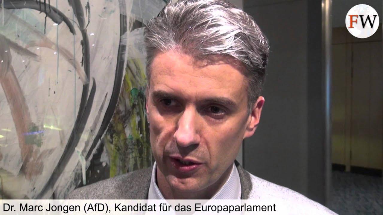 Dr Marc Ghysels Scantix: Dr. Marc Jongen, Europawahl-Kandidat Der Alternative Für