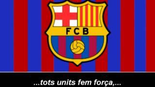 Himne del F.C Barcelona (Lletra) - Himno de F.C Barcelona (Letra)