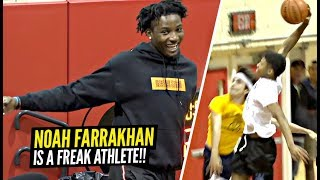DONT JUMP w/ Noah Farrakhan! You WILL GET Dunked On! The BEST PG In New Jersey!?
