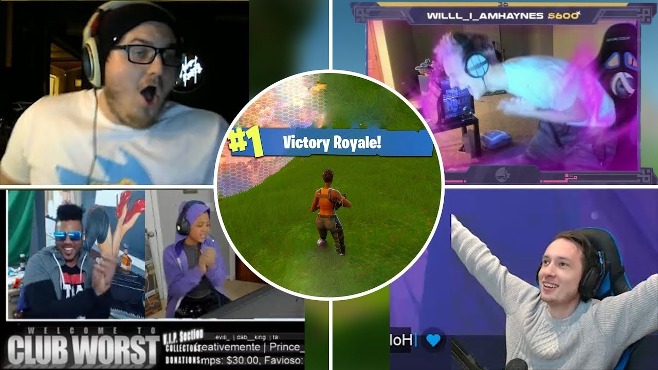 Best Victory Reactions In Fortnite(Funny Reactions & Best Moments)
