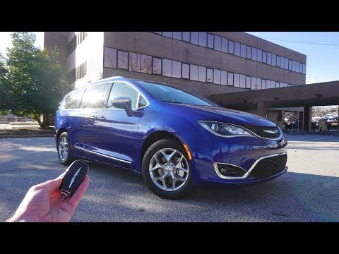 2019 Chrysler Pacifica Limited: Start Up, Walkaround, Test Drive and Review