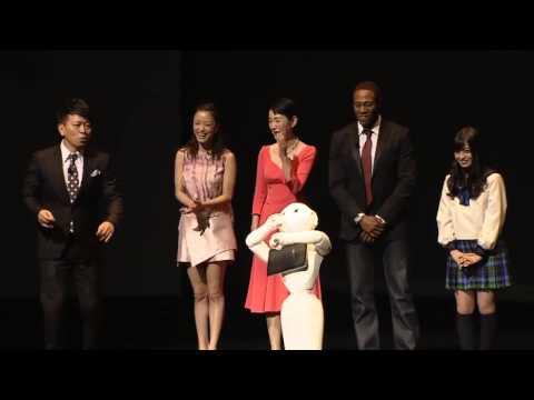 Pepper robot press event: SoftBank Mobile Corp. & Aldebaran