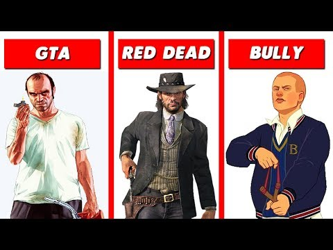 10 Best ROCKSTAR Games of All Time