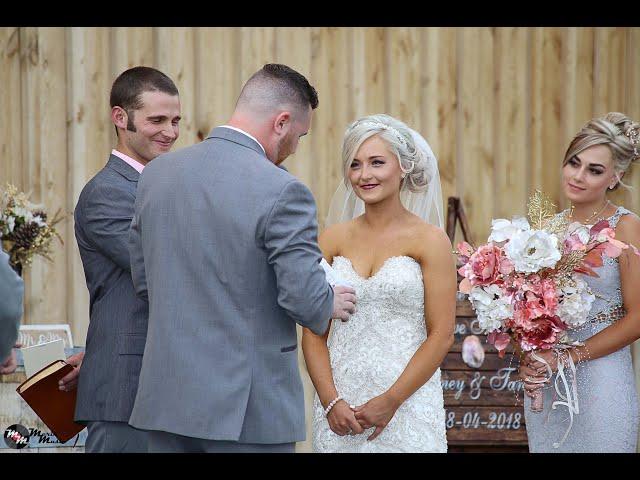 Brittney & Tanner's Wedding August 4, 2018