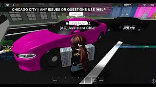 CPD Roblox S1 E4 Part 1: possible OUI, and traffic stop