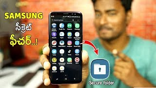 Samsung Hidden Feature - Samsung Secure Folder Feature - How to Use In 2018