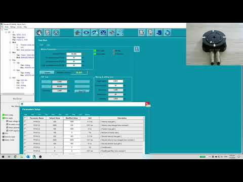 Hiwin E Series - Direct Drive Motor Tutorial 4 - Motor Tuning