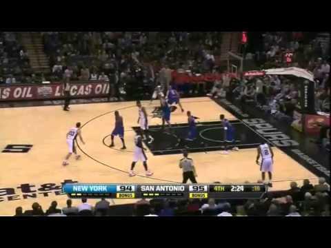 2012/13 NBA Regular Season - Knicks vs Spurs - Jason Kidd Highlights