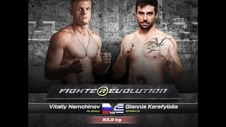 Vitaly Nemchinov (Russia) VS Giannis Karafyllidis (Greece) (FULL HD)