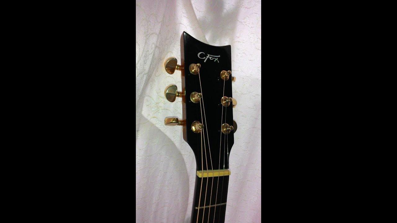 C Fox Guitar For Sale Charles Fox(C Fox) nap...