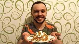 Салат на новый год из сайры вкусный легкий простой
