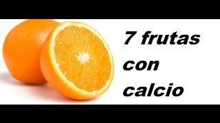 7 frutas ricas en  calcio