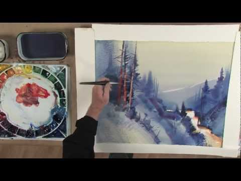 Preview   Stephen Quiller's Painting Workshop: Atmosphere & Light in Watercolor