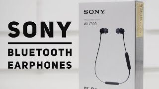 Sony WI C300 Bluetooth Earphones Review